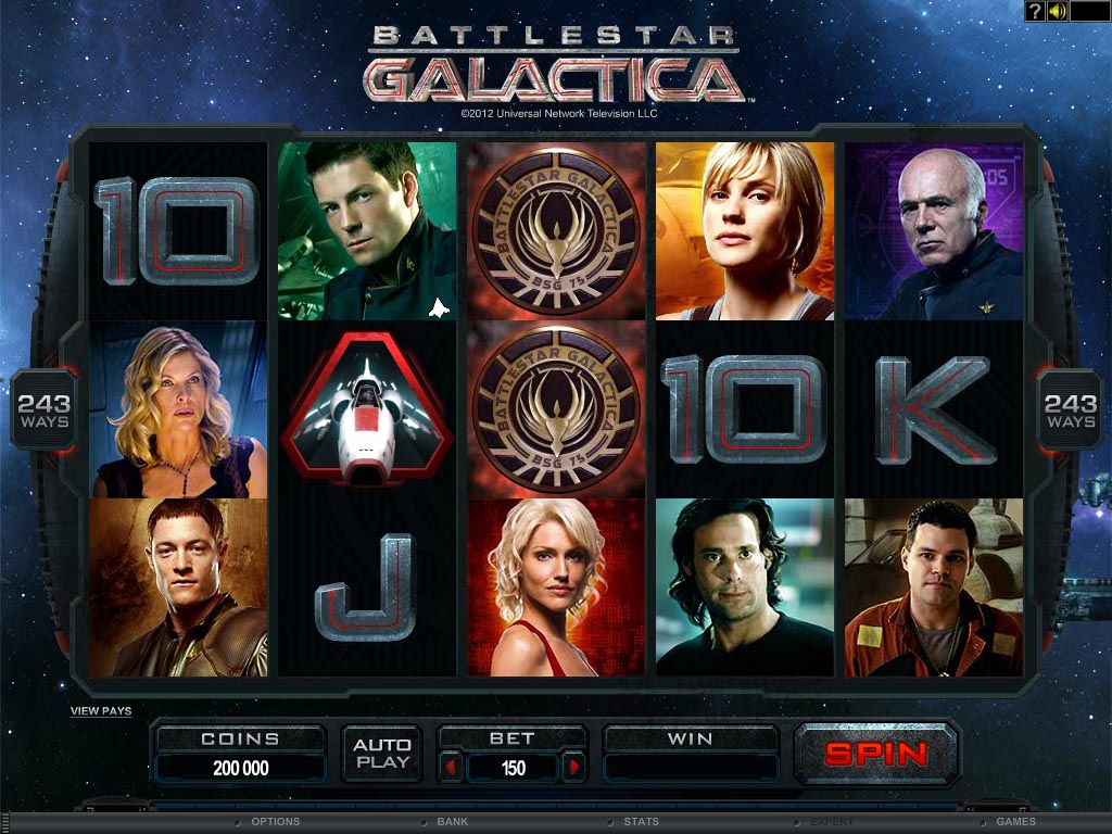 The long wait for the Battlestar Galactica Slot Game…