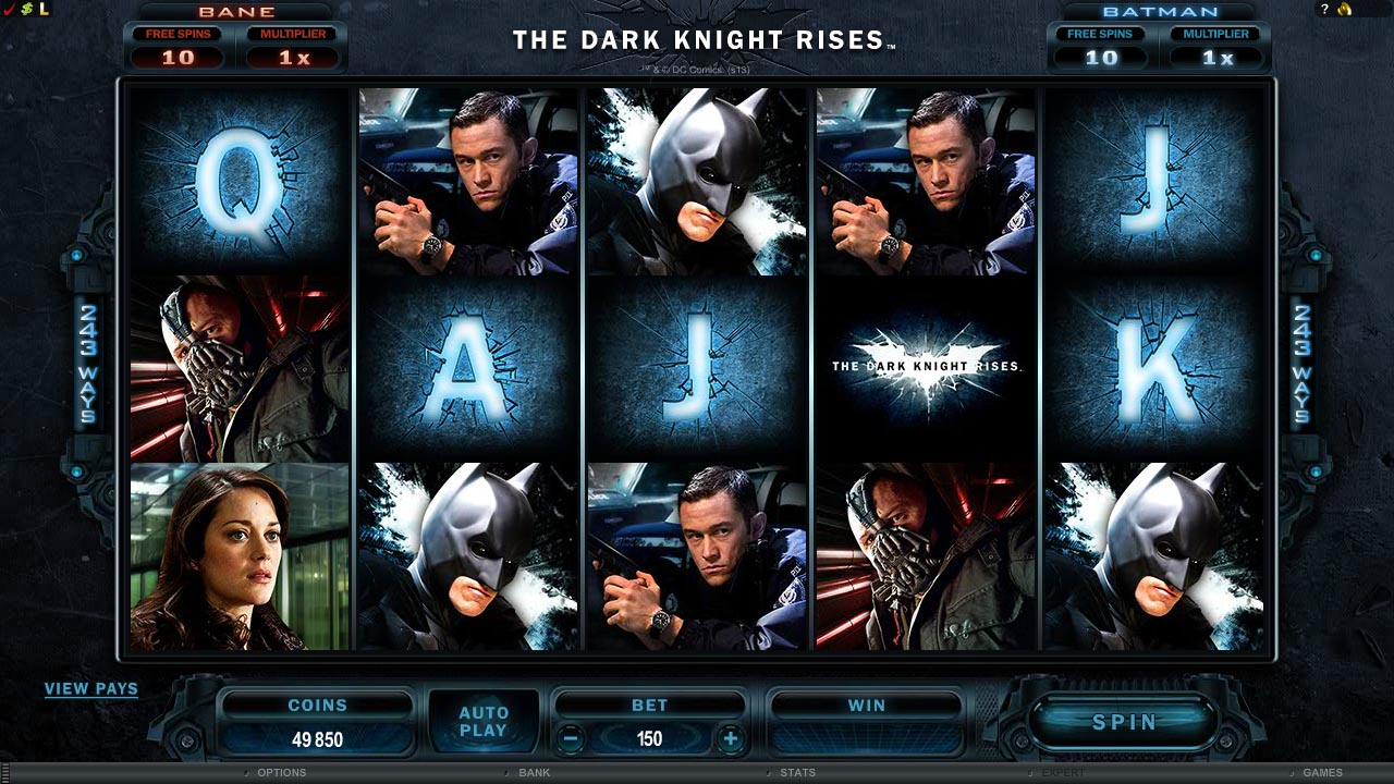 The Dark Knight Rises this September