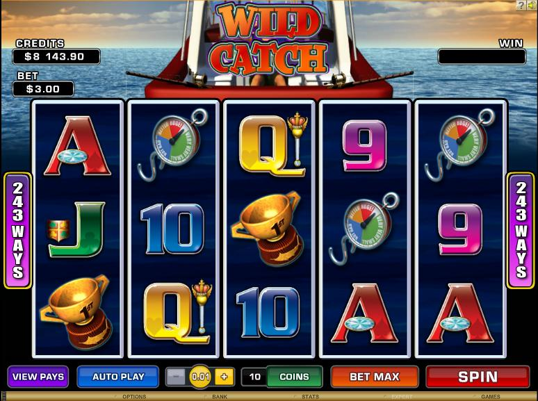 Turn your Wild Catch into real cash this summer only at Microgaming casinos