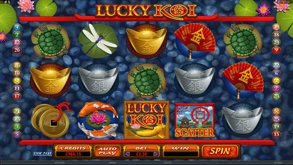 Jump straight into the New Year with Lucky Koi!